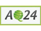 Логотип AQ24, творческая студия