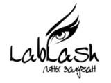 Логотип Лаборатория наращивания ресниц Lablash