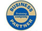 Логотип Бизнес Партнер, тренинговая компания